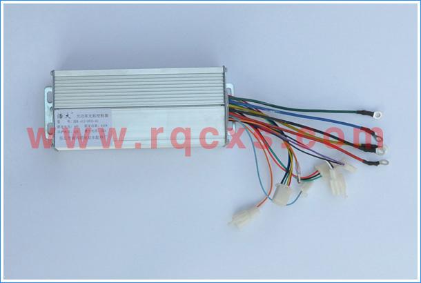 三轮电动车控制器接线图 -电动三轮车控制器48V650W 电动三轮车控图片