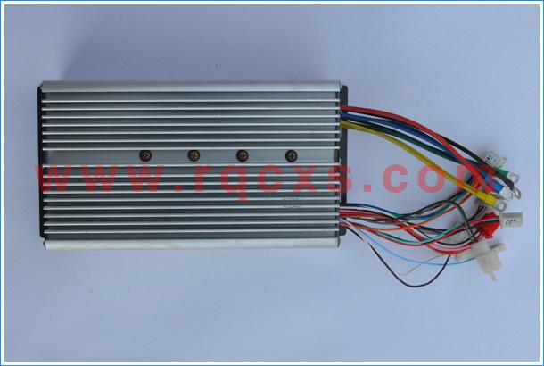 三轮电动车控制器接线图 -电动三轮车控制器72V1500W 电动三轮车控图片